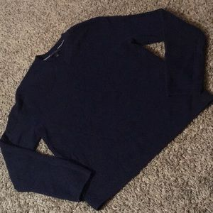 Gorgeous navy blue sweater